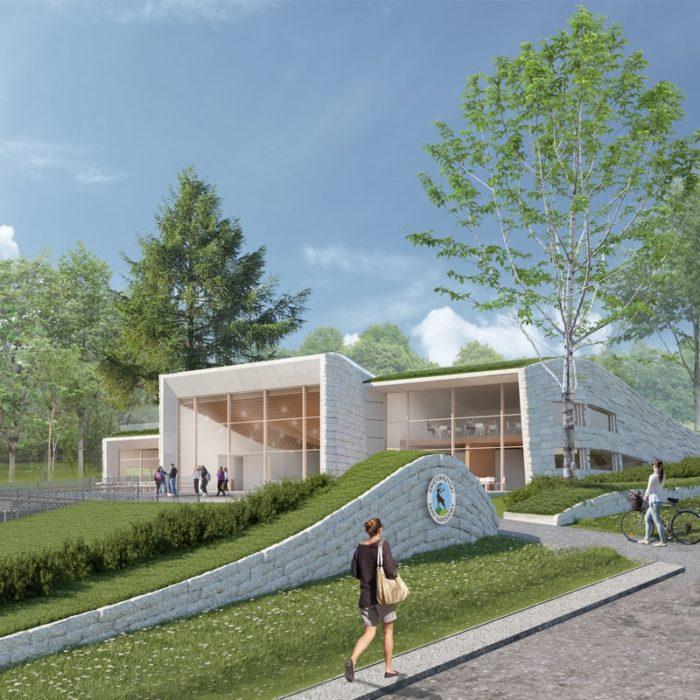 Centrum Edukacji Przyrodniczej Świętokrzyskiego Parku Narodowego Kwadratura Biuro Architektoniczne