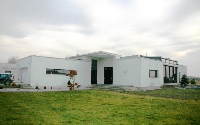 Dom Japoński Augustówka Kwadratura Projekty Domów Jednorodzinnych