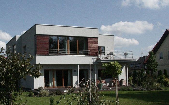 Dom z płaskim dachem Klaudyn
