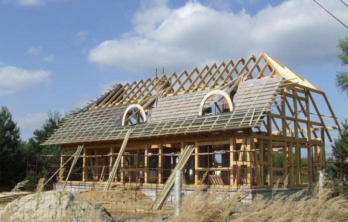 Dom ze słomy Kwadratura, projekty domów jednorodzinnych