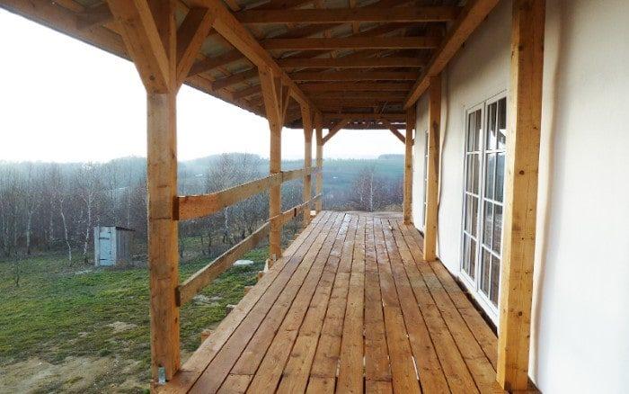 Dom ze Słomy w Górach, Pstrągowa Kwadratura projekty domów jednorodzinnych