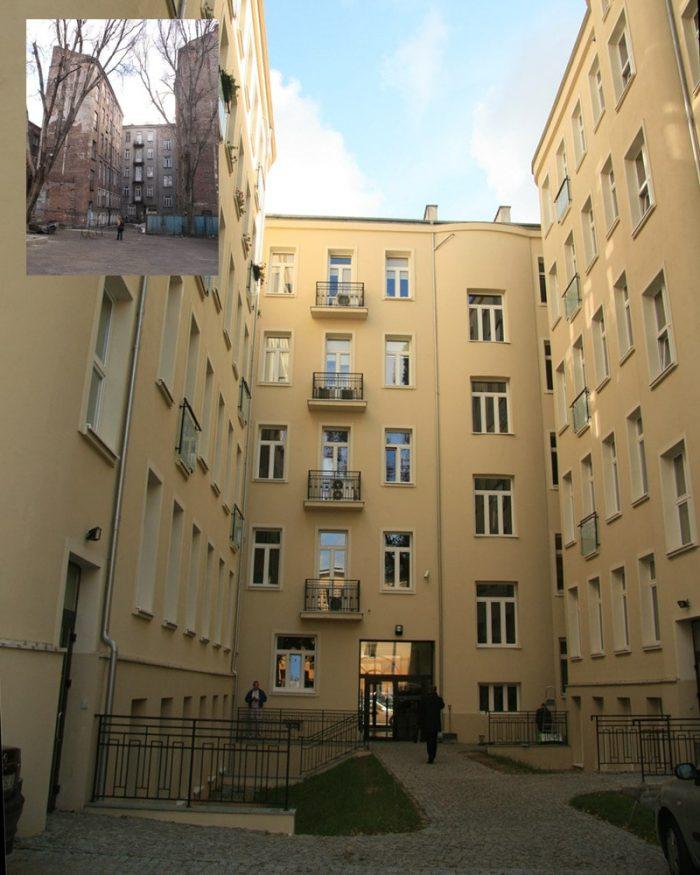 Kamienica przy Młynarskiej Kwadratura Remont Zabytków