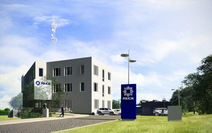 Komisariat policji w Gdyni, Kwadratura - projekty biurowe