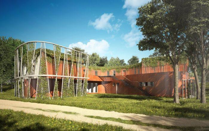 Mazurskie Centrum Bioróżnorodności i Edukacji Przyrodniczej, Stacja Terenowa UW w Urwitałcie, Kwadratura