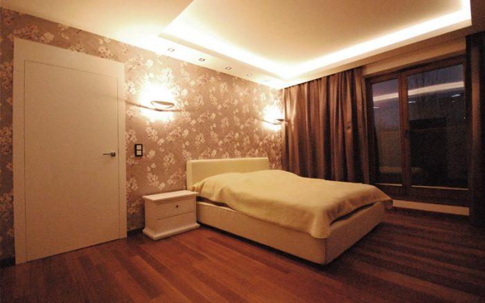 Mieszkanie Glamour projekty wnętrz Kwadratura