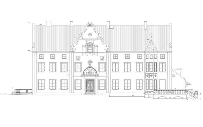 Pałac w Łabędniku Kwadratura Biuro Architektoniczne