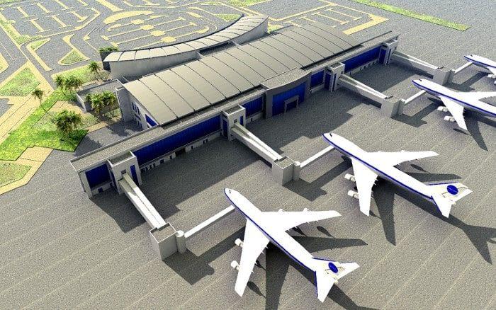 Port lotniczy Bengzhai Kwadratura