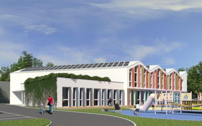 Przedszkole Miejskie w Łomiankach - Piaski Kwadratura Biuro Architektoniczne