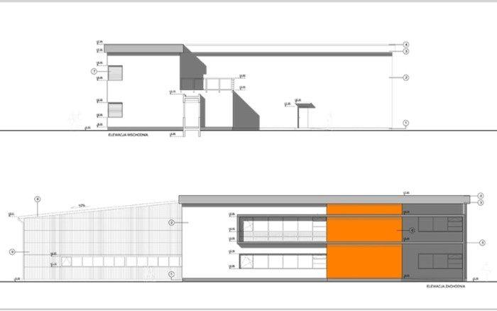 Siedziba firmy Decare Kwadratura Projekty Biurowe