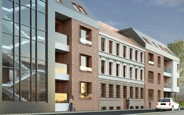 Zabudowa Kwartału w Gdański Kwadratura Biuro Architektoniczne