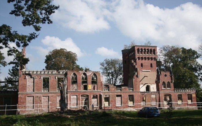Zamek w Prosnej Kwadratura