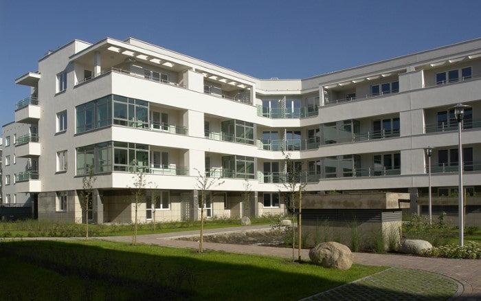 Zielony Nugat III Kwadratura Budynki Wielorodzinne