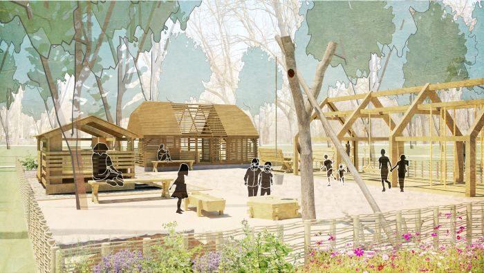 zabudowa zagrodowa wieś mazowiecka