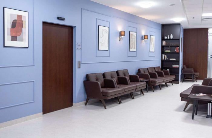 Klinika Chirurgii Kolana poczekalnia